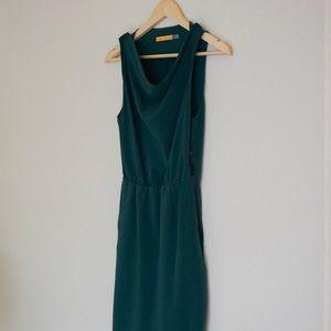 Alice + Olivia Emerald Dress